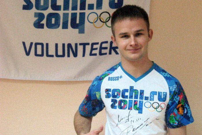 Волонтер ВГУЭС принял участие в презентации одежды для Игр-2014 от BOSCO во Владивостоке