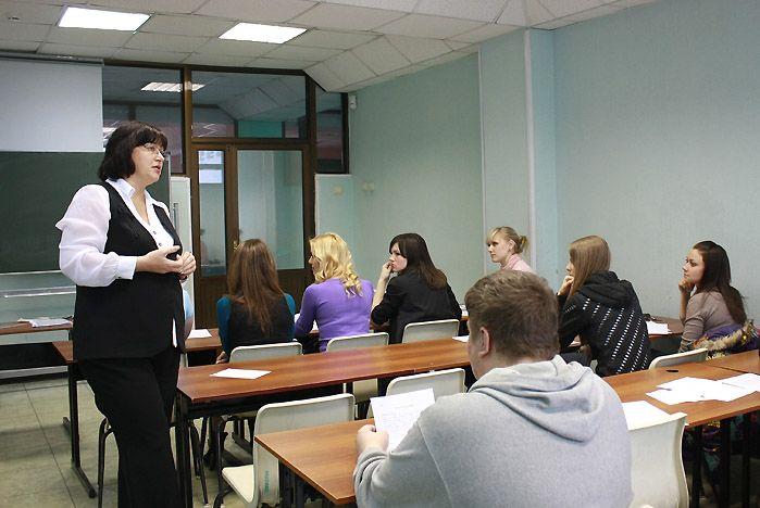 Состоялась очередная встреча студентов специальности «Управление персоналом» с представителем реального бизнеса