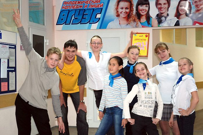 Команда КВН Лицея ВГУЭС стала одним из трех лауреатов городского фестиваля открытой школьной лиги КВН
