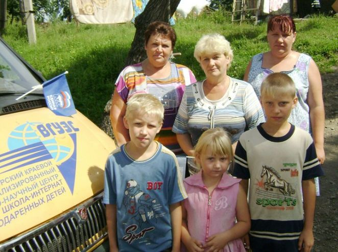 Акция «Помоги собраться в школу» прошла в Шкотовском районе при поддержке ВГУЭС