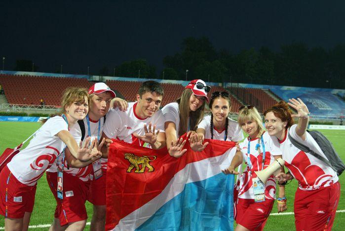Универсиада в Казани: зрителей радуют спортсмены и волонтеры