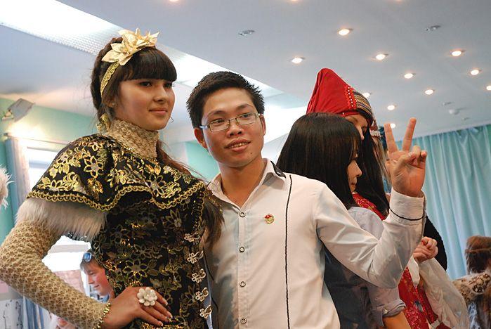 ВГУЭС снова посетила иностранная делегация студентов