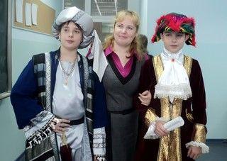Рождество в средневековом городе отпраздновали на уроке истории ученики Академического колледжа ВГУЭС