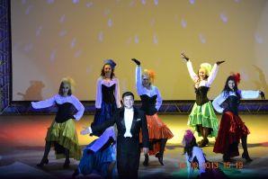 Гала-концерт ежегодного фестиваля студенческого творчества Звездная осень ВГУЭС-2013