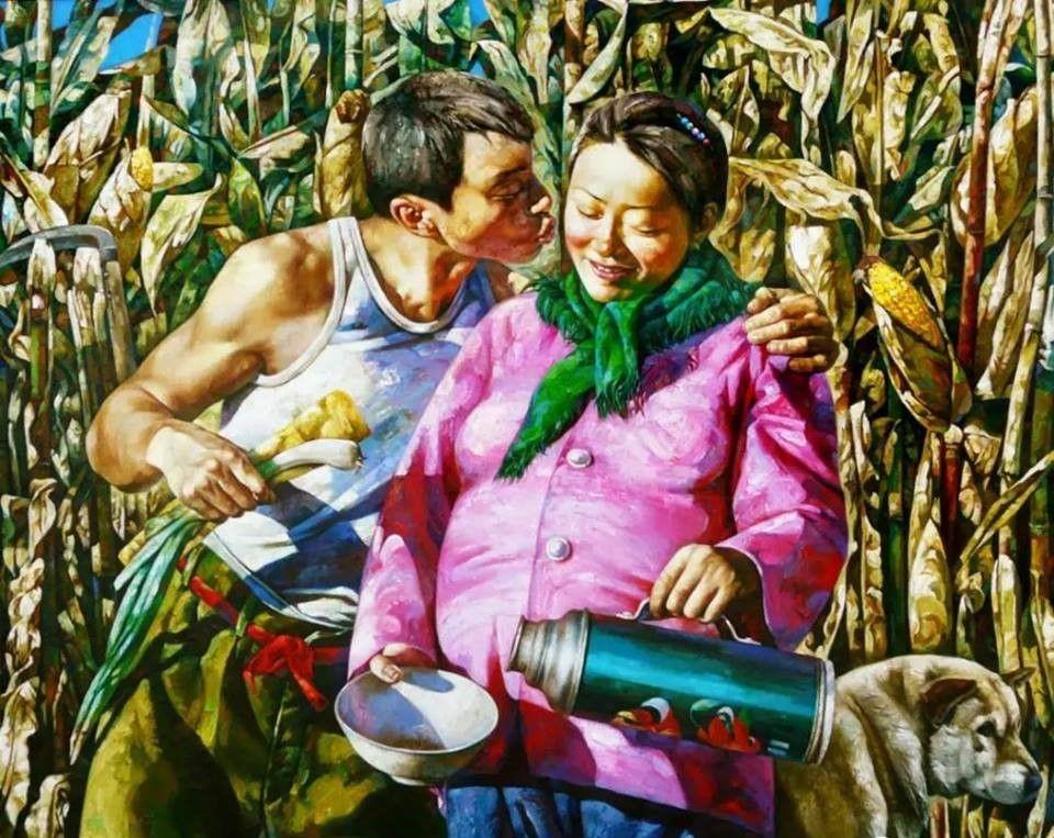 Выставка известного китайского художника Ван Вэньцзяна «Душа нараспашку» (живопись)
