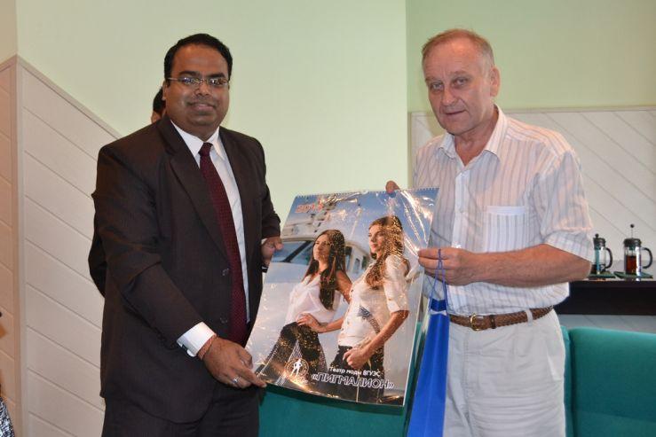 ВГУЭС расширяет сотрудничество с Индией