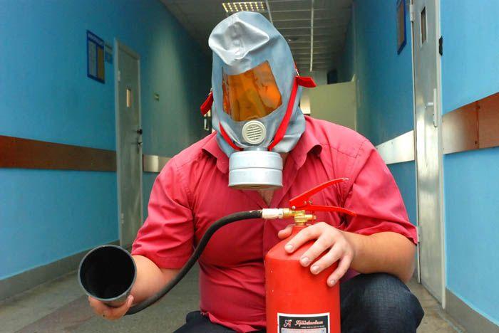 Добровольная пожарная дружина ВГУЭС успешно прошла первую проверку учебной тревогой