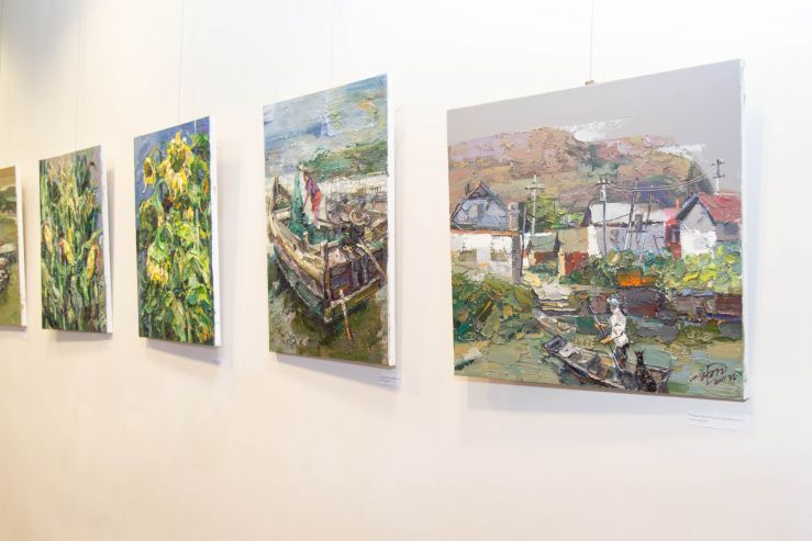Художник из Китая раскрыл «Душу нараспашку» в музейно-выставочном комплексе ВГУЭС
