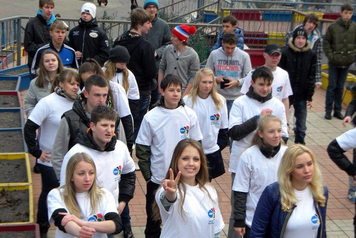 Волонтеры ВГУЭС отметили Всемирный день здоровья