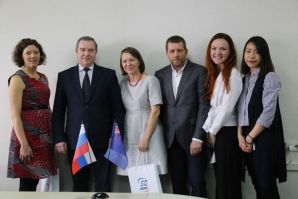 VSUES extends International Cooperation