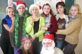 Студенты группы ПП 05-01 проводят праздничное Рождественское мероприятие в ШИОД им.Дубинина