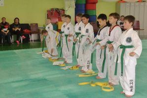В Восточной школе прошла аттестация по таэквон-до на жёлтый и зелёный ученические пояса