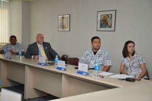 Delegation from Guam visited VSUES