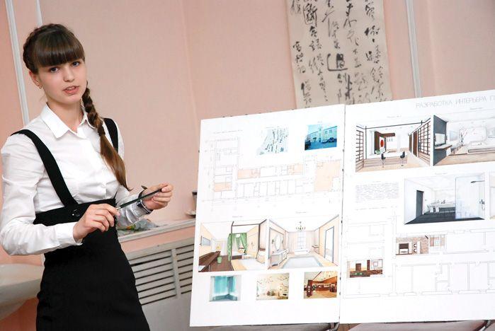 Студенты дизайнеры Академического колледжа ВГУЭС защитили дипломы