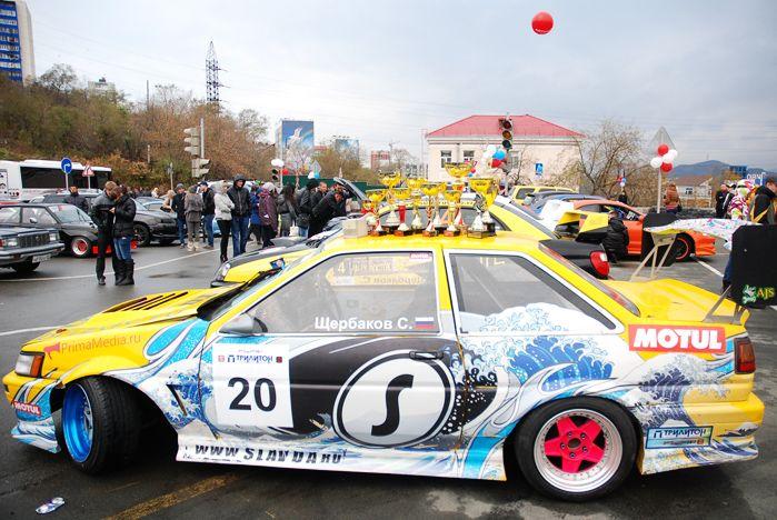 «Автошоу Владивосток 2012» собрало профессионалов и любителей авто и мототехники на автодроме ВГУЭС