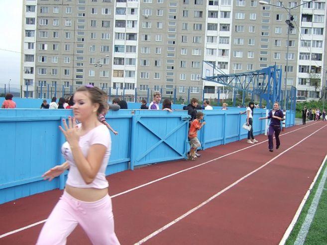 Студенты КСД ВГУЭС заявили о своем намерении побеждать в городской спартакиаде