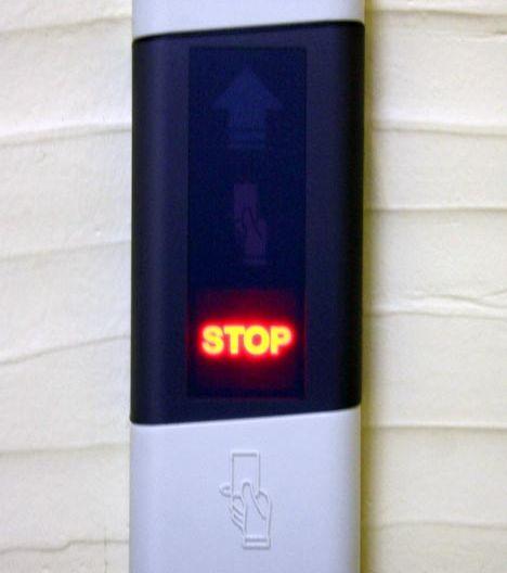 Если у Вас нет доступа, то загорится надпись Stop красного цвета.
