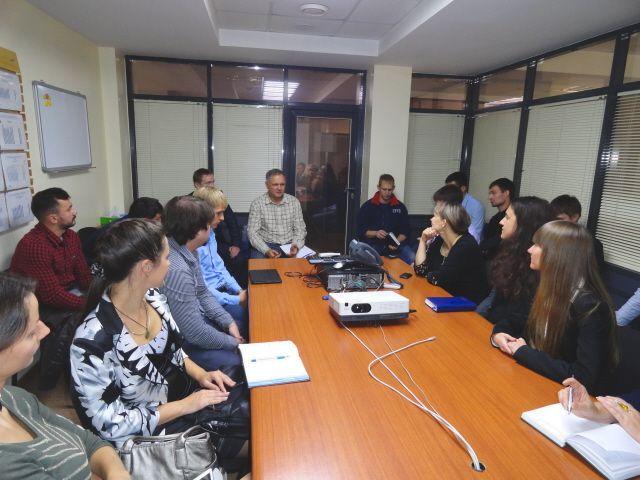 10 октября 2013 года состоялась встреча с директором завода Сабмиллер Рус (Efes Rus) во Владивостоке Михаилом Тимошенко.