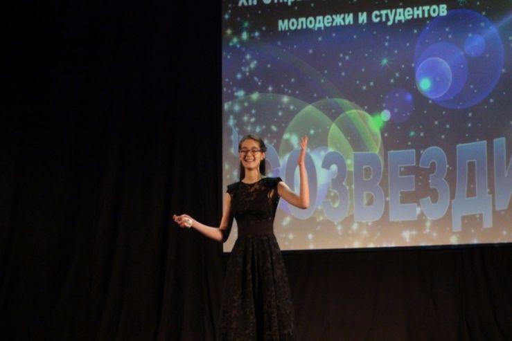 Студентка  колледжа Анжелика Солтамакова успешно приняла участие в краевом конкурсе творчества молодежи и студентов «Созвездие»