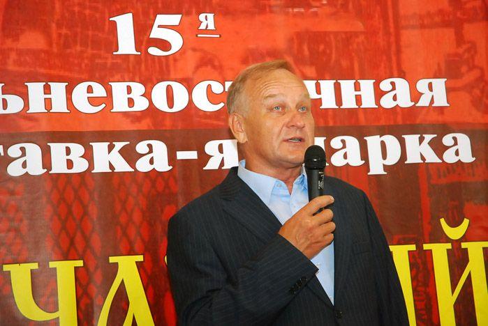 Ректор ВГУЭС Геннадий Лазарев открыл XV Дальневосточную книжную выставку-ярмарку «Печатный двор 2011»