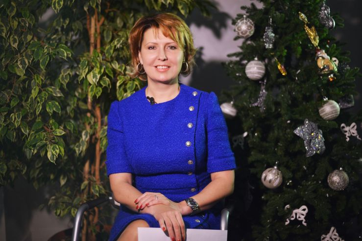 Ректор ВГУЭС Татьяна Терентьева поздравляет коллектив университета с Новым годом