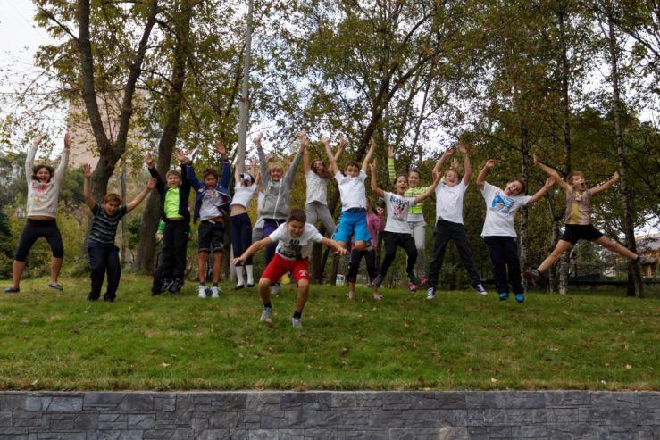 «Осенний марафон» прошел в ШИОД