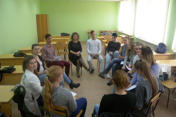 В КСД ВГУЭС прошел ряд тренингов «Моя семья»