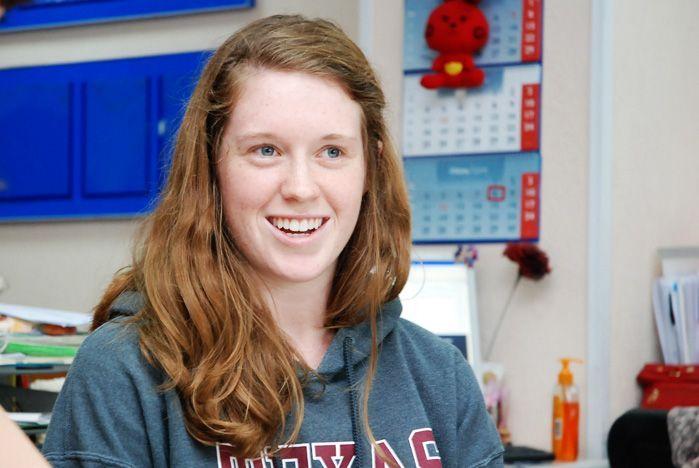 Очередная группа американских студентов вновь прибыла на языковую стажировку