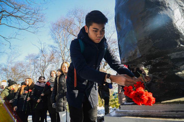 Мандельштамовские чтения во ВГУЭС: студенты из Лаоса учат стихи поэта