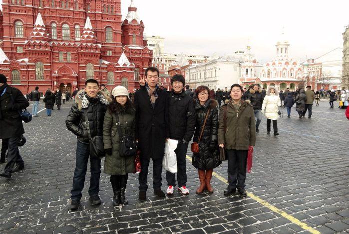 Китайские студенты и преподаватели ВГУЭС встречали Новый год в Москве