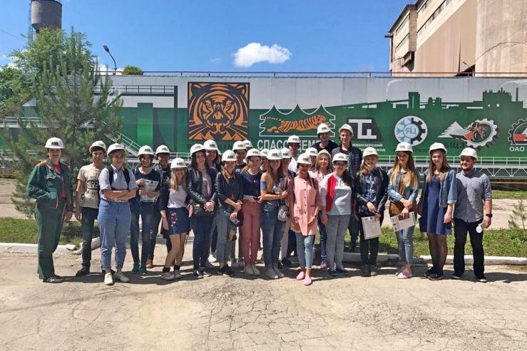 Студенты МИТГ посетили крупнейшее предприятие Приморского края АО «Спасскцемент» в рамках практикоинтегрированного обучения