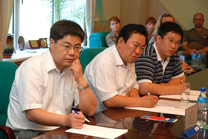 Делегация Хэйлунцзянского сельскохозяйственного университета Байи во ВГУЭС