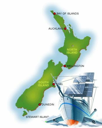 Необыкновенный отдых в Новой Зеландии!