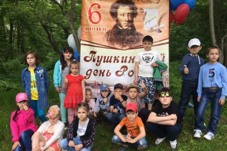 Фоторепортаж с места  событий  от ребят  первой смены  летнего детского лагеря «ВГУЭС»