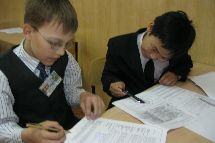Профориентационное консультирование учащихся прошло в Гимназии №29 г.Уссурийска