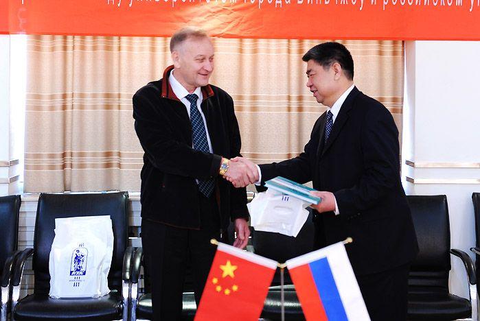 ВГУЭС международный: новое в сотрудничестве с китайскими вузами