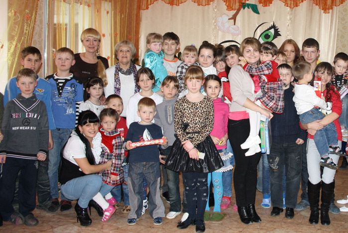 Будущие культурологи ВГУЭС: подружись с детьми из детского дома!