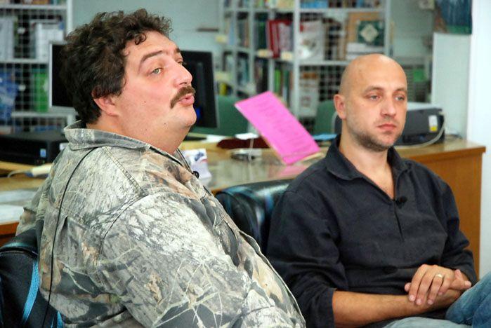 Известные писатели дали телеинтервью в библиотеке ВГУЭС