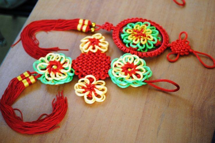 Мастер-класс по плетению китайских узелков