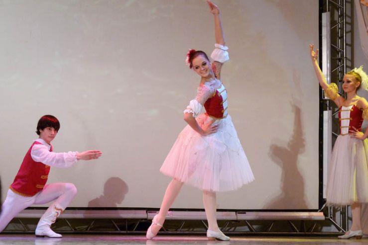 Ежегодный отчетный концерт студии классического балета «Навстречу весне» состоялся на сцене ТКК «Андеграунд»