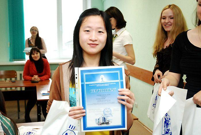 Годичная стажировка китайских студентов во ВГУЭС – маленькая по времени, но большая по значению