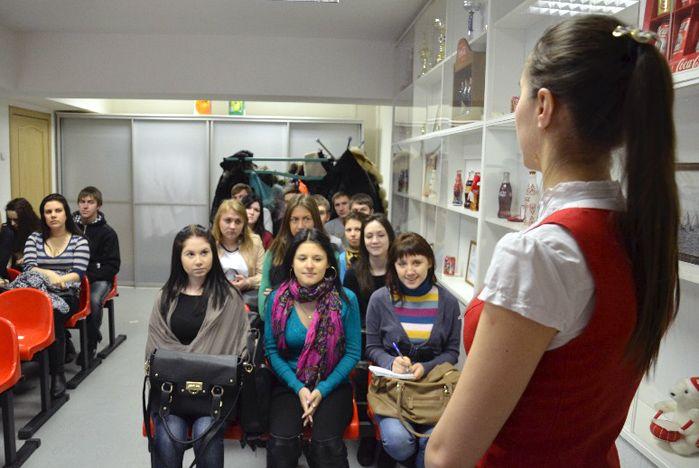 Студенты ВГУЭС познакомились с кадровой работой компании Coca-Cola Hellenic