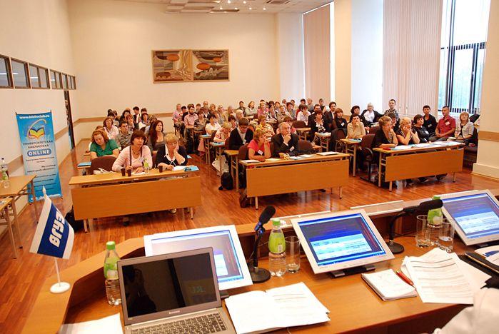 Во ВГУЭС стартовала научно-практическая конференция «Инновационные технологии в информационном обеспечении образования»