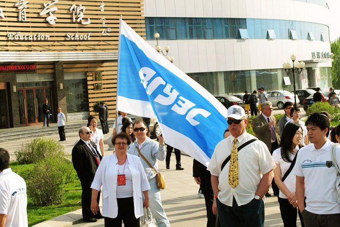 Делегация ВГУЭС приняла участие в Международном фестивале культуры и спорта в г. Муданьцзян