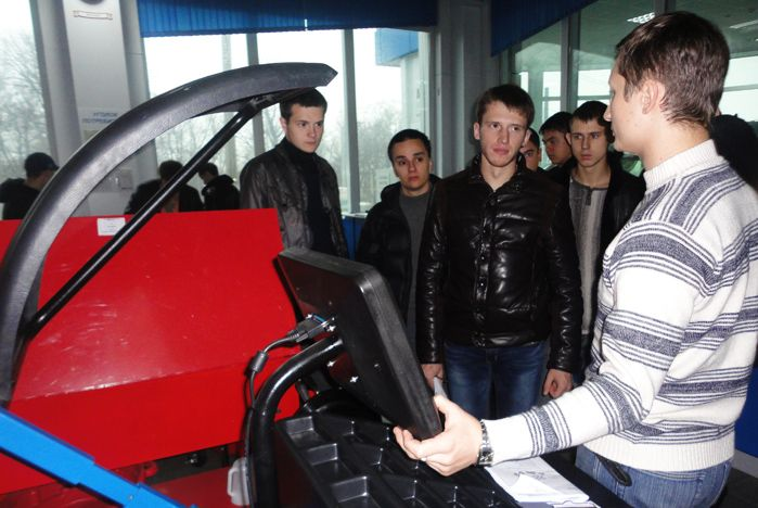Orient Machinery Group открыла свои двери для студентов кафедры СТС