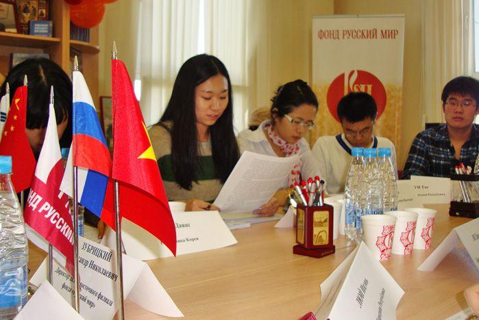 Иностранные студенты ВГУЭС обсудили перспективы сотрудничества России и стран АТР