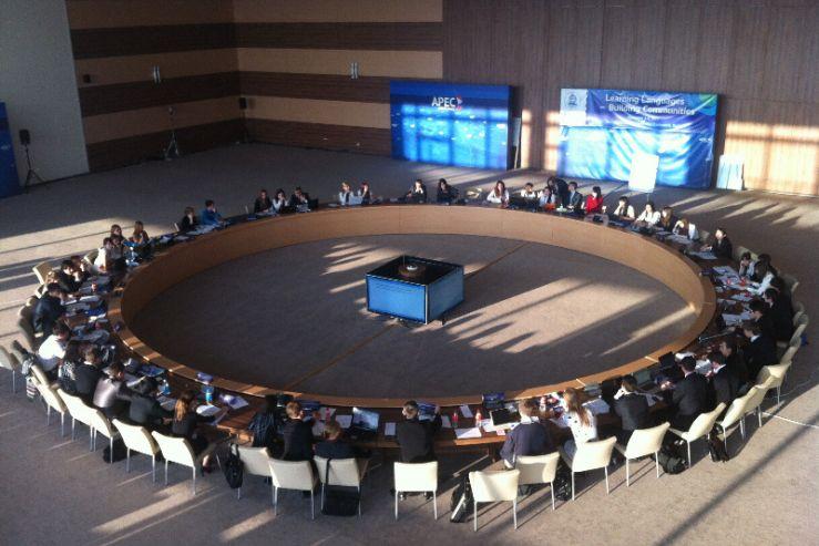 Студенты – международники кафедры МЭТ – постоянные участники молодежных Конференций по модели ООН