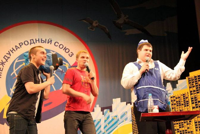 Команда КВН ВГУЭС «Объединенная Корейка» выиграла четвертьфинал игр Дальневосточной лиги