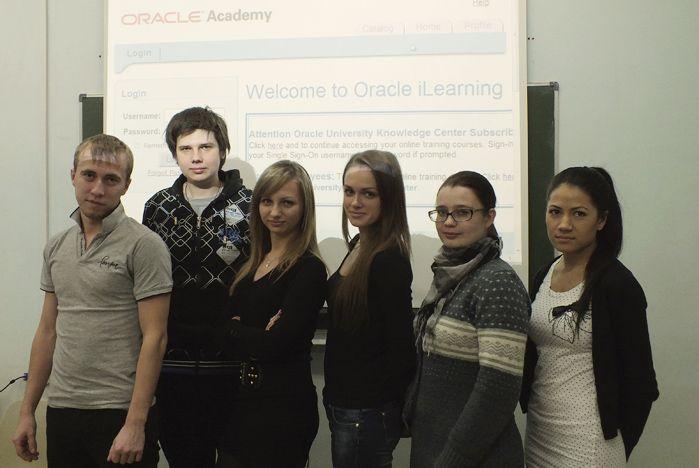 Первый выпуск по программе «Программирование и построение баз данных на SQL в СУБД ORACLE» состоялся во ВГУЭС