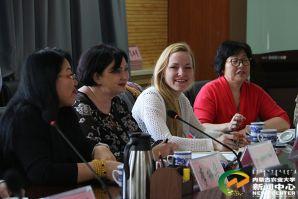 俄罗斯符拉迪沃斯托克国立经济与服务大学代表团访问内蒙古农业大学